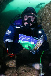 Heather you need to read the guide before the dive? St Ab... by Jim Garland 